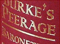 A Tour of Burkes Peerage and Gentry