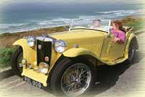 A Tour of Cornwall Classic Car Hire